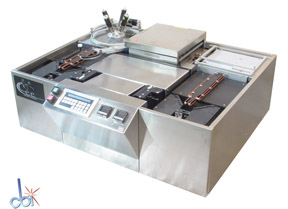 BREWER SCIENCE INC. PROGRAMMABLE AUTOMATED COAT/BAKE TRACK SYSTEM