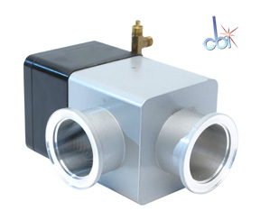VARIAN RIGHT ANGLE BLOCK VACUUM VALVE