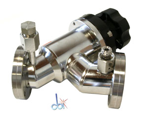 NOR-CAL PRODUCTS MANUAL IN-LINE VACUUM VALVE