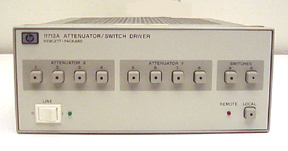 HEWLETT PACKARD HP ATTENUATOR/SWITCH DRIVER