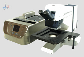 LEICA/REICHERT MANUAL WAFER INSPECTION MICROSCOPE