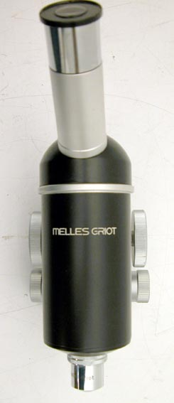 MELLES GRIOT FINE FOCUSING MICROSCOPE