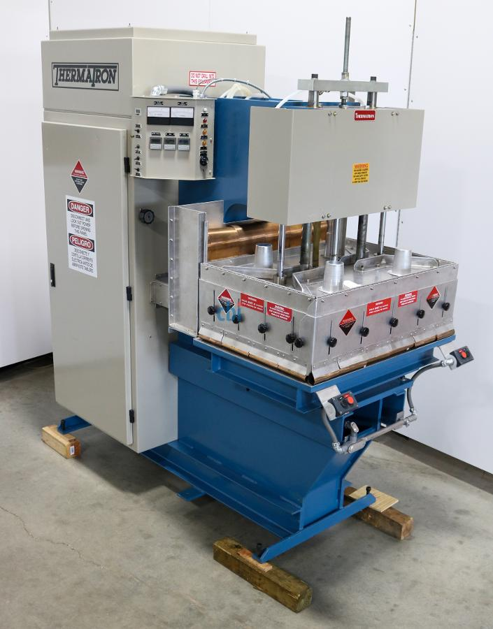 THERMEX THERMATRON RF PLATEN PRESS 10KW 27.1 MHZ