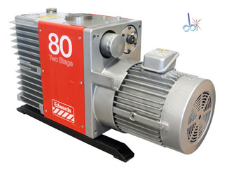 EDWARDS ROTARY VANE MECHANICAL VACUUM PUMP 56.5 CFM