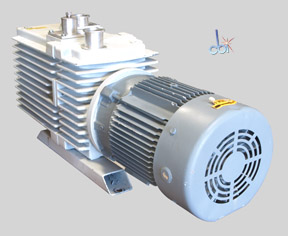 LEYBOLD ROTARY VANE MECHANICAL VACUUM PUMP 36.7 CFM