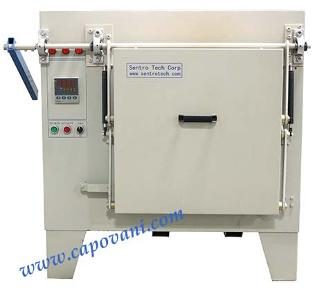 SENTRO TECH BOX FURNACE 1200 C HOT ZONE 16 X 16 X 22