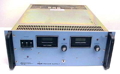ELECTRONIC MEASUREMENTS INC. DC POWER SUPPLY