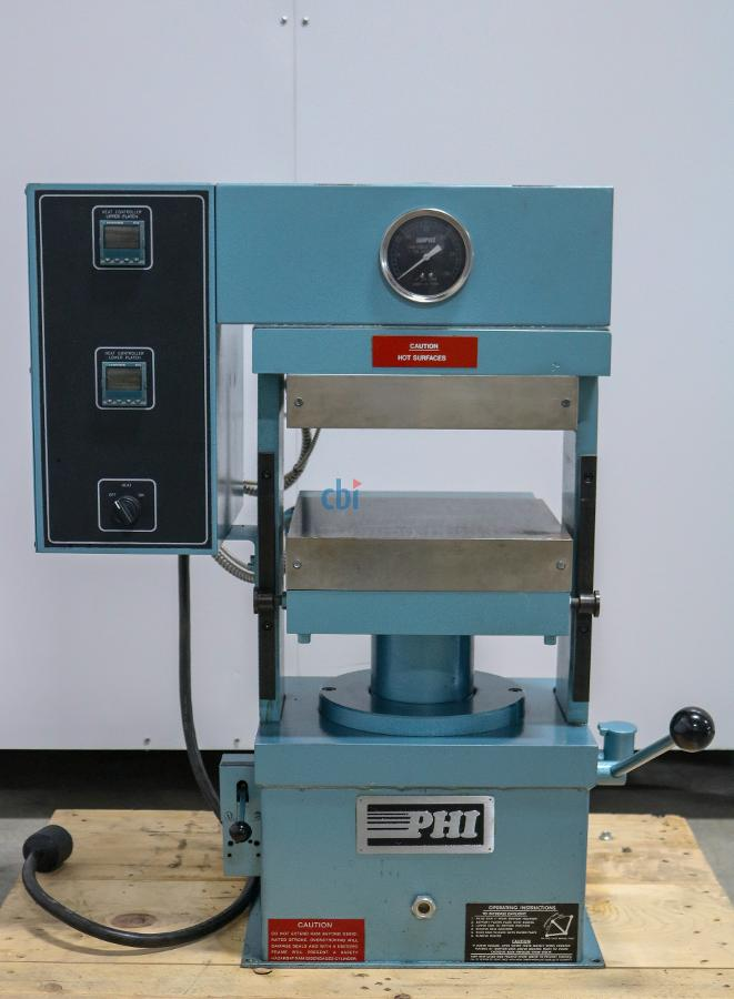 PHI HEATED PLATEN PRESS 30 TON