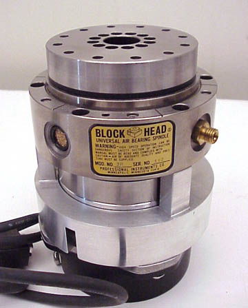PROFESSIONAL INSTRUMENT CO. AIR BEARING SPINDLE
