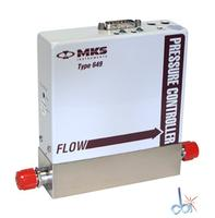 MKS INSTRUMENTS MASS FLOW CONTROLLER WITH PRESSURE CONTROLLER