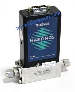 TELEDYNE HASTINGS MASS FLOW CONTROLLER 100 SCCM ARGON