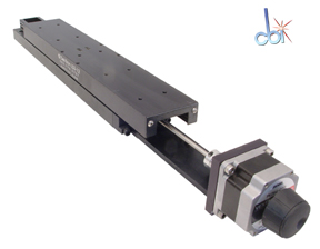 DEL-TRON PRECISION MOTORIZED LINEAR STAGE, 12""