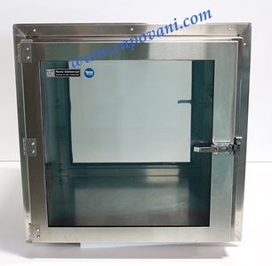 TERRA UNIVERSAL CLEAN ROOM PASS-THROUGH CHAMBER STAINLESS STEEL