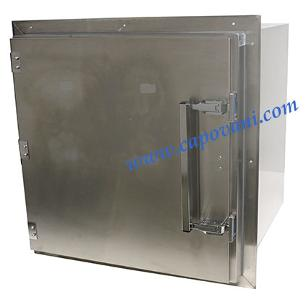 TERRA UNIVERSAL CLEAN ROOM PASS-THROUGH CHAMBER, STAINLESS STEEL