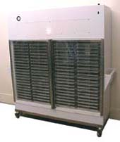 AIR CONTROL INC LAMINAR FLOW STORAGE CART, VERTICAL