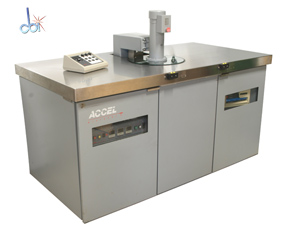 ACCEL CORP. SEMI-AUTOMATIC CENTRIFUGAL CLEANING SYSTEM