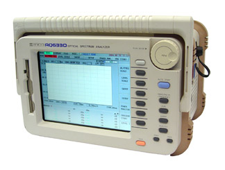 ANDO PORTABLE OPTICAL SPECTRUM ANALYZER