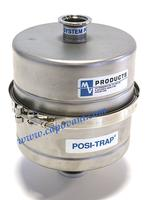 MV PRODUCTS SINGLE STAGE VACUUM TRAP, POSI-TRAP, 8""